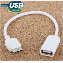 Micro USB 3.0 to USB 3.0 OTG Cable for Samsung Galaxy S5 Note 3