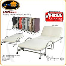 Foldable Bed With Head Reclining Function (Single Size)