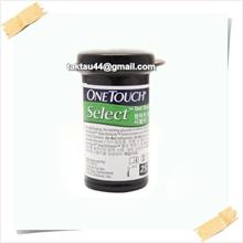 NEW Onetouch Selectsimple blood sugar test strips - 25 pieces