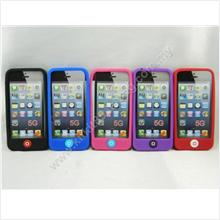 Apple iPhone 5 Home Button Silicone Soft Case Protect Phone