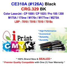 HP CE310A 126A CP1025 M175 BLACK Toner Compatible * NEW Sealed *