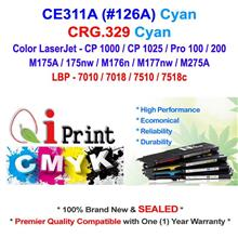 HP CE311A 126A CP1025 M175 CYAN Toner Compatible * NEW Sealed *