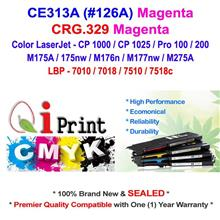 HP CE313A 126A CP1025 M175 MAGENTA Toner Compatible * NEW Sealed *