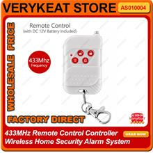 433MHz Remote Control Controller Wireless Home Security Alarm System