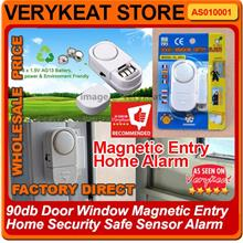 90db Door Window Magnetic Entry Home Security Safe Sensor Alarm
