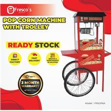 Pop Corn Machine With Trolley