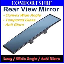 FREE GIFT + Universal Car Interior Blue Wide Angle Rear Mirror