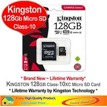 KINGSTON Micro SD 32GB Class-10 HD *Lifetime Warranty*