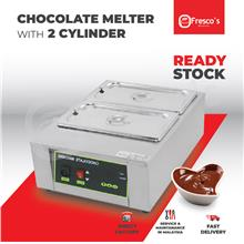 Chocolate Melter Machine with 2 cylinders