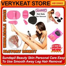 Sundepil Beauty Skin Personal Care Smooth Away Leg Hair Removal