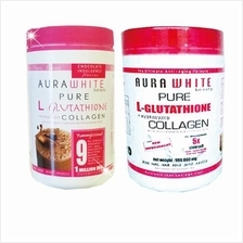 1 Jar Aura White Plus Collagen + 1 Jar Aura White Pure G