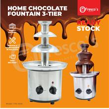 Fresco Home Chocolate Fountain Machine Stainless Steel FRS-001A