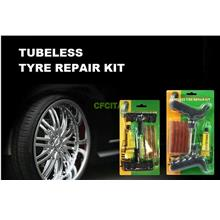 DIY Car Motorbike Tubeless Tyre Tire Puncture Instant Repair Kit 8pcs