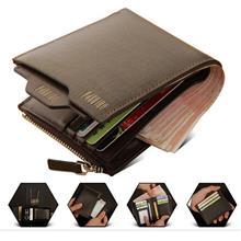 Promotion Pabojoe Men Premium Genuine Leather Wallet { Free Keychain }
