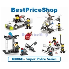 LEGO compatible - WANGE Super Police Series - education brick games