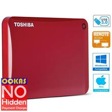 Toshiba Connect II V8 USB 1TB External Hard Drive Disk Portable HDD