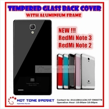 Xiaomi Mi Redmi Note 2 3 4G Redmi 1s 2 Tempered Glass Back Cover Case