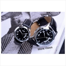 [Attractive Free Gift!] EYKI 8408 Couple Waterproof Leather Watch