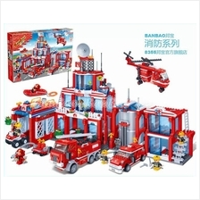 Banbao Fire series 8355 Building Block With Lego compatible