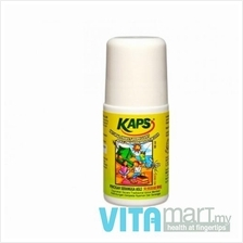 KAPS Natural Insect Repellent Roll-On with Moisturizer 60ml