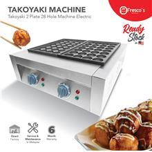 Fresco Takoyaki Electric Machine FR-56, 2 plate 28 hole