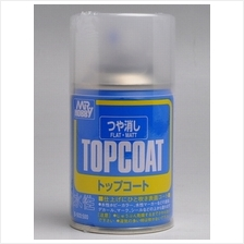 [B503] Mr. Hobby Top Coat Flat 86ml Spray