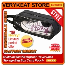 Multifunction Waterproof Travel Shoe Storage Bag Box Carry Pouch