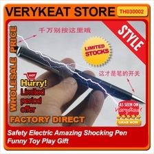 Safety Electric Amazing Shocking Pen Funny Toy Play Gift