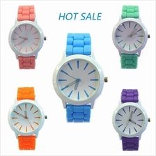 Korea Candy Silicone Analog Watch