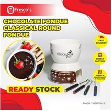 Chocolate Fondue Classical Round Fondue