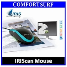 Original IRISCAN Mouse + Scanner Swipe & Scan up to A4 A3 Size Skypix