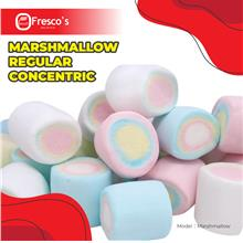 Marshmallow Regular Concentric 1kg per bag