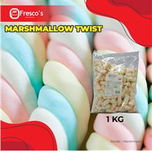 Marshmallow Twist 1kg per bag