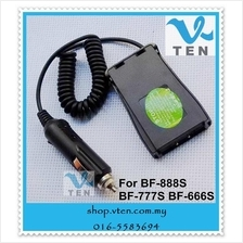 Car Charger Battery Eliminator For BAOFENG UVB5,UVB6 Walkie Talkie