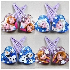 [NEW] Disney Frozen Anna/Elsa/Olaf/Snowflake Hair Clip Accessories