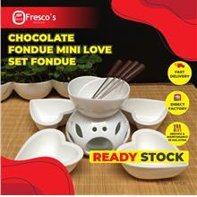 Chocolate Fondue Mini Love Set Fondue Y14022