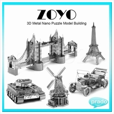 ZOYO 3D Metal Nano Puzzle Model Building Kits Toy