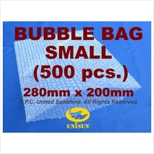 x 500 pcs. SMALL BUBBLE WRAP BAG 280mm x 200mm A4 FREE SHIPPING PROMO