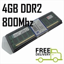4GB Kingston Desktop PC DDR2 RAM 800Mhz PC-6400 KVR800D2N6/4G for AMD