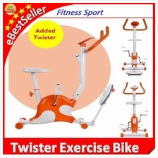 Twister Exercise Bicycle Home Office Fitness Equipment Cycling Bike