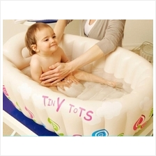 Tiny Tots Lsize Extra Thick Inflatable Baby Bathtub+Electric Air Pump