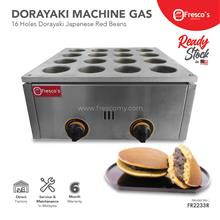 Dorayaki Gas 16 Hole Japanese Red Bean FR-2233R