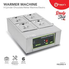 Chocolate Melter Machine with 4 cylinders