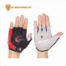 [CRONUS.MY] CRONUS CYCLING SPORT HALF FINGER HAND GLOVE | 4 COLOURS