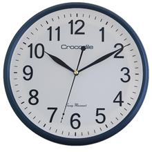 Crocodile 12 INCH Metallic Blue Wall Clock CW 802 W5