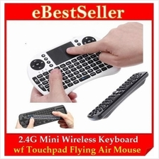 Flying Air mouse RC11 RC12 UKB-500 2.4G Wii Wireless Keyboard + Mouse