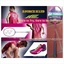Z Force II 2 Ltd Limited LCW raket Badminton Racket (PM for price)