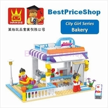 LEGO compatible - Dr Luck City Girl Bakery - education brick games toy