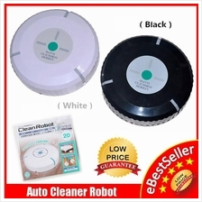 Auto Cleaner Robot Smart Dust Hair Sticky Mirofiber Mop Sweep Cleaner