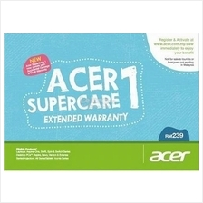 Acer New SuperCare 1 Extended Warranty *3 Years* with Acc Damage